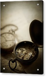 Somewhere In Time Acrylic Print by Amy Weiss