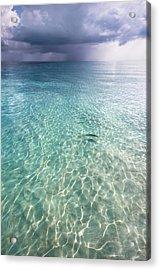 Somewhere Is Rainy. Maldives Acrylic Print