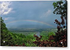 Somewhere Over The Blue Ridge Acrylic Print