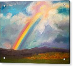 Somewhere Over The Rainbow Acrylic Print
