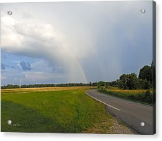 Somewhere Under The Rainbow Acrylic Print