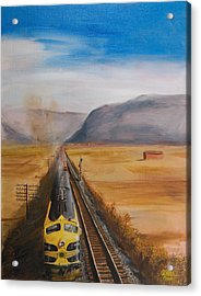 Somewhere West Of Corning Acrylic Print by Christopher Jenkins