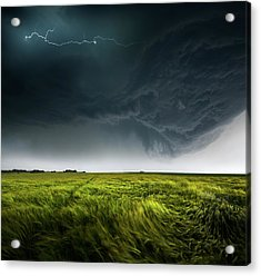 Sommergewitter_01 Acrylic Print