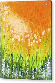 Acrylic Print featuring the painting Sonbreak by Holly Carmichael