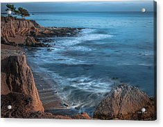 Song At The End Of Day--- Shell Beach Acrylic Print