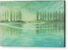 Acrylic Print featuring the painting Song For Monet by Laurie Stewart