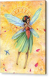 Song Of Summer Acrylic Print by Sara Burrier