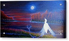 Song Of The Silent Autumn Night Acrylic Print