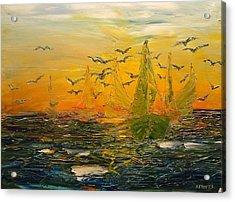 Song Of The Wind Acrylic Print by Svetla Dimitrova