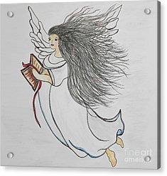 Songs Of Angels Acrylic Print by Eloise Schneider