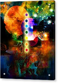 Sonic Ascension Acrylic Print by Bruce Manaka