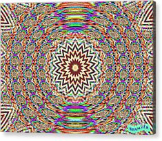 Sonic Vibrations Acrylic Print by Bobby Hammerstone