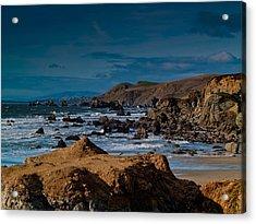 Sonoma Coast Acrylic Print by Bill Gallagher