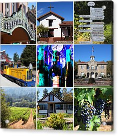 Sonoma County Wine Country 20140906 Acrylic Print