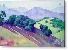 Sonoma Hills Acrylic Print