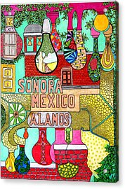 Sonora Lights 01 Acrylic Print