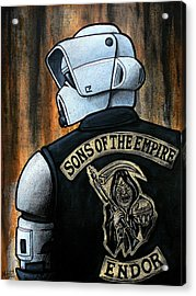 Sons Of The Empire Acrylic Print by Marlon Huynh