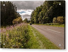 Acrylic Print featuring the photograph Soon Traffic Jam by Sergey Simanovsky