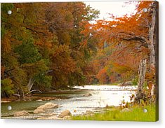 Soothing Color Acrylic Print by David  Norman