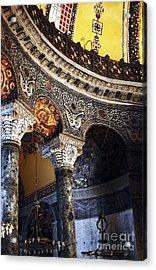 Sophia Balcony Acrylic Print by John Rizzuto