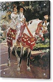 Sorolla, Joaqu�n 1863-1923. Portraits Acrylic Print