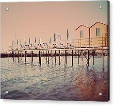 Sorrento Pier Acrylic Print