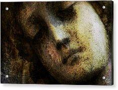 Sorrow Captured In Stone Forever Acrylic Print by Gun Legler