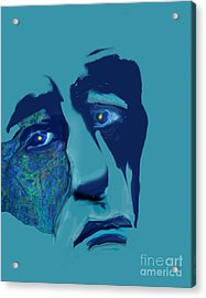 Sorrow Acrylic Print by Gabrielle Schertz