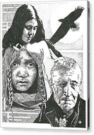 Sorrows Acrylic Print