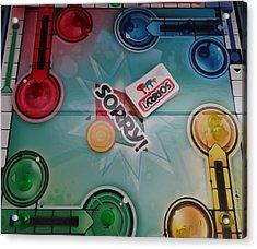 Sorry Board Game Acrylic Print