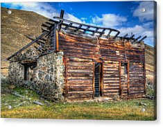 Acrylic Print featuring the photograph Sorry We're Closed by Kevin Bone