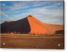 Sossusvlei Park Sand Dune Acrylic Print