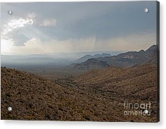 Sotol Scenic Overlook Big Bend National Park Acrylic Print by Shawn O'Brien