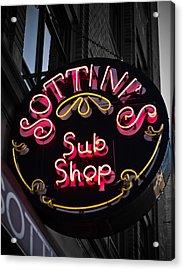 Sottini's Sub Shop Acrylic Print