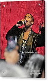 Acrylic Print featuring the photograph Soul Diva Sings Again by Tonia Noelle
