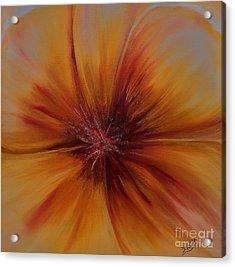 Soul Of A Flower Acrylic Print by Mary DeLawder
