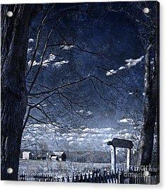 Soul Searching Acrylic Print by John Stephens