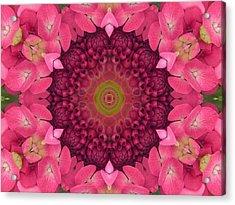 Soul Sister Mandala Acrylic Print