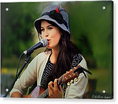 Acrylic Print featuring the photograph Soul Sister by Wallaroo Images