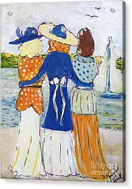 Soul Sisters  Acrylic Print