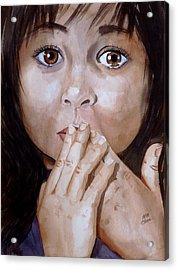 Soul Tears Acrylic Print