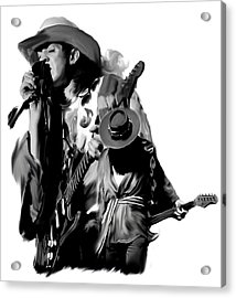 Soul To Soul  Stevie Ray Vaughan Acrylic Print