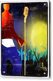 Soulsinger Acrylic Print by Romaine Head