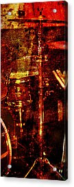 Acrylic Print featuring the photograph Sound Bites Niche Art Drumset by Bob Coates
