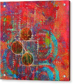 Sound Signs Acrylic Print by Moon Stumpp