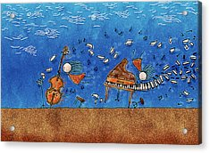 Sounds Blown In The Wind Acrylic Print by Gianfranco Weiss