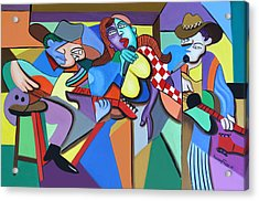 Sounds Like A Country Song Acrylic Print by Anthony Falbo