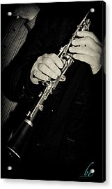 Sounds Of A Clarinet Acrylic Print