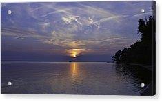 Soundside Sunset Acrylic Print