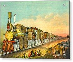 Sour Mash Express 1877 Acrylic Print